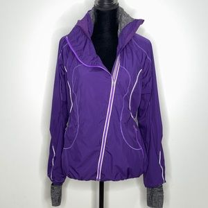 Lululemon Purple Hustle Running Jacket